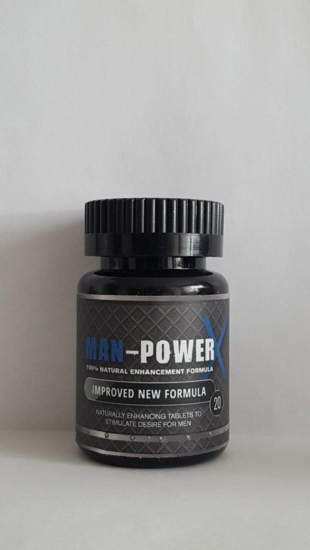 Man-Power for Men 100% Natürliches Potenzmittel 20er