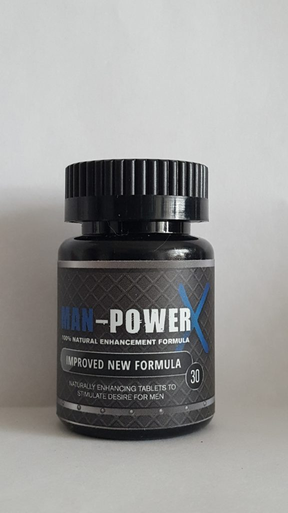Man-Power for Men 100% Natürliches Potenzmittel 30er